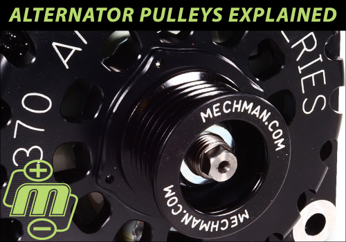 Alternator Pulleys Explained