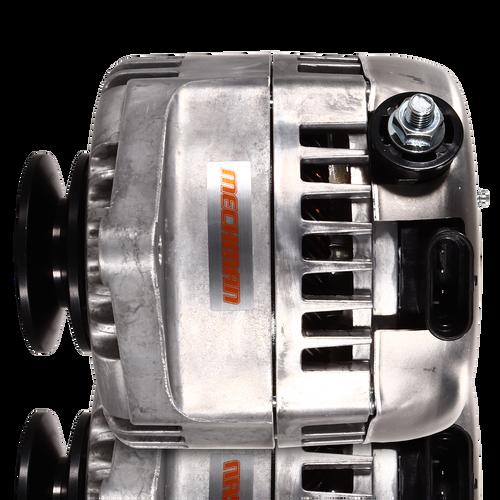 170 amp Racing alternator for 63-85 GM - Natural Finish