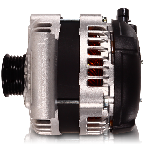 240 amp Alternator for GM Ecotec - Single Wire Turn On