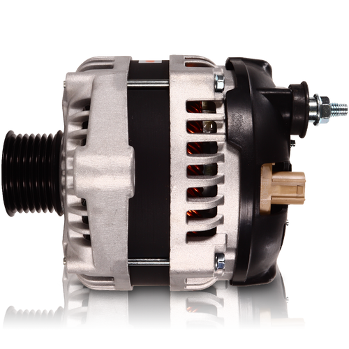 S Series 6 phase 240 amp alternator for Dodge saddle mount