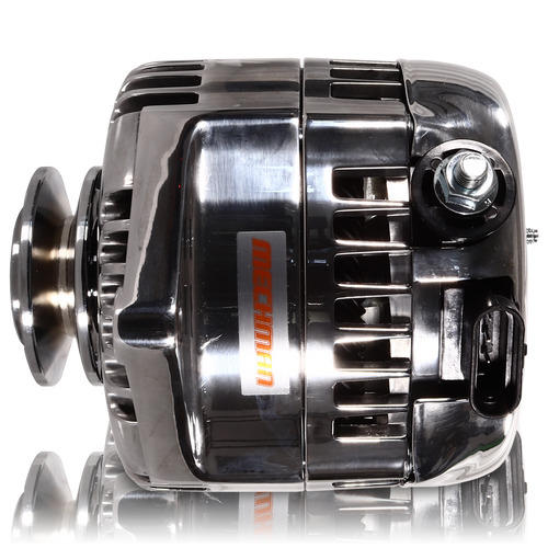170 amp racing alternator - 63-85 GM - Polished