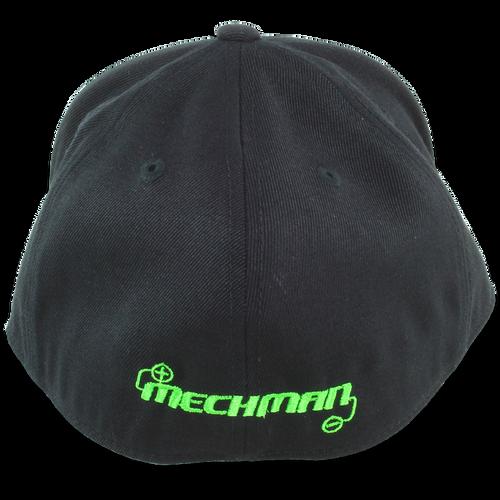 Mechman Embroidered Flexfit 210 Flatbrim Fitted Hat