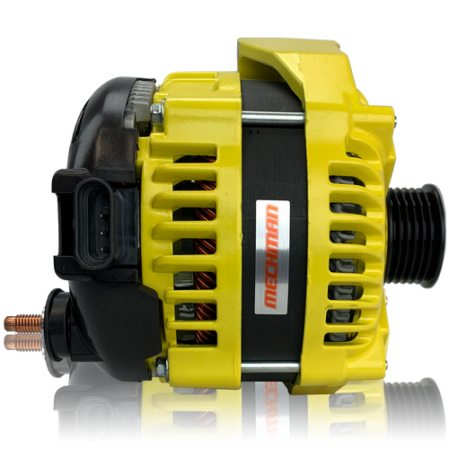 400 Amp Yellow high output alternator 1996-2004 GM Truck 4.3L 4.8L 5.3L 5.7L 6.0L