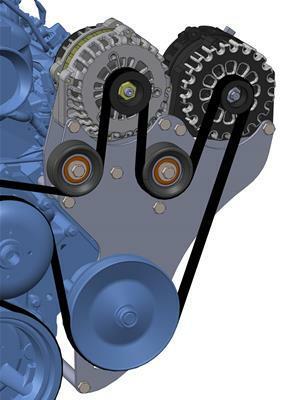 05-13 GM Trucks Includes One Alternator