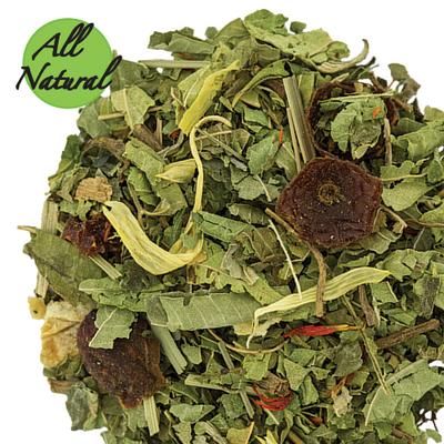 Evening Herb Tea With Lemon Verbena and Valerian Root