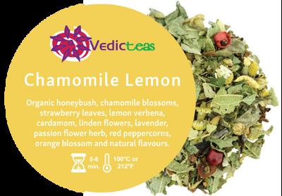 Chamomile Lemon Loose Leaf By Vedic Teas