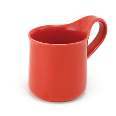 CFZ-02 Cafe Mug Large Tomato Colour
