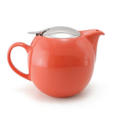 Zero Japan Teapot With Strainer Carrot Colour