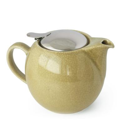 Zero Japan Teapot Crackle Yellow