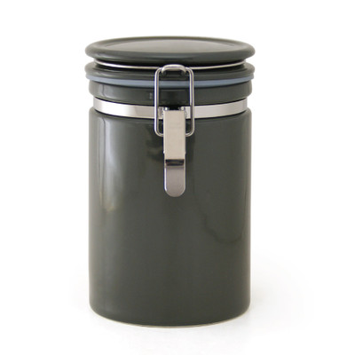 Zero Japan Tea & Coffee Canister 200g - Steel Grey