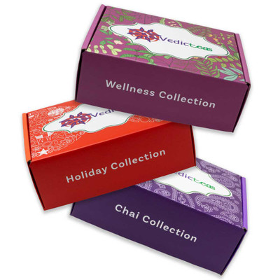 Three Types Of Collections Of Teas By Vedic Teas