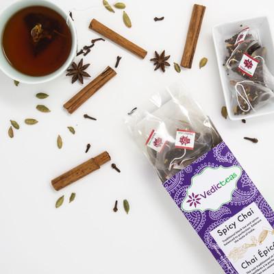 Spicy Chai, Pyramid Tea Bags 20CT