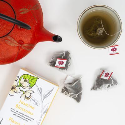 Jasmine Blossoms, Pyramid Tea Bags 20CT