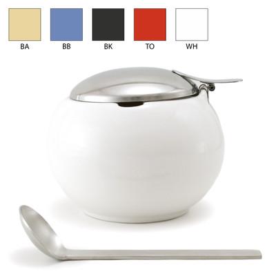 Zero Japan - Round Sugar M With S/S Spoon