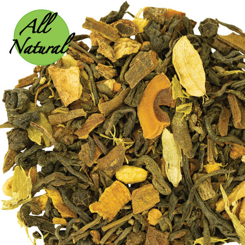 Green Tea Chai All Natural Tea Loose Tea.