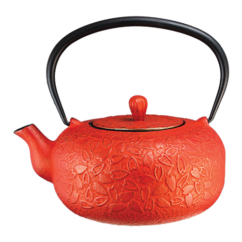 Hearts Teapot Red By Vedic Teas