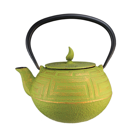 Green Gold Teapot By Vedic Teas