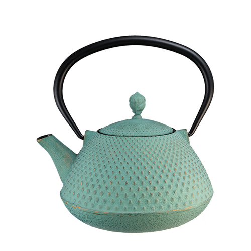 Sublime Cast Iron By Vedic Teas Light Blue Colour