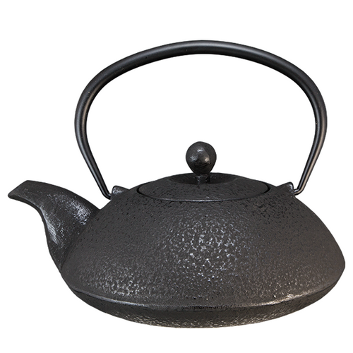 Ultra Cast Iron Teapot By Vedic Teas Black Colour