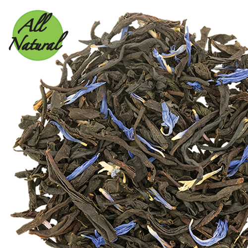 Earl Grey De La Créme Black Tea With Blue Cornflowers