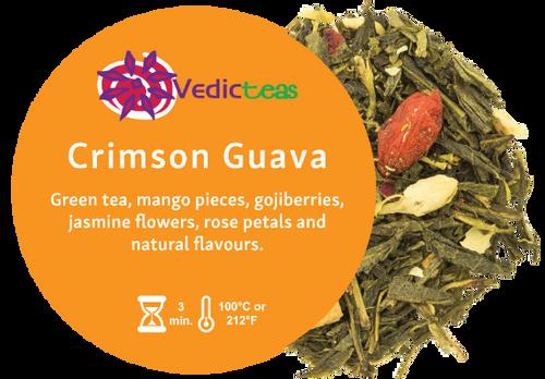 Crimson Guava, Pyramid Tea Bag