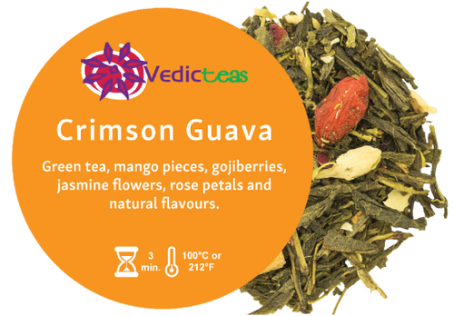 Crimson Guava, Pyramid Tea Bag