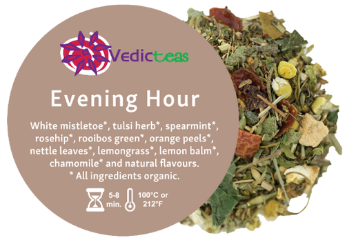 Evening Hour Organic, Pyramid Tea Bag