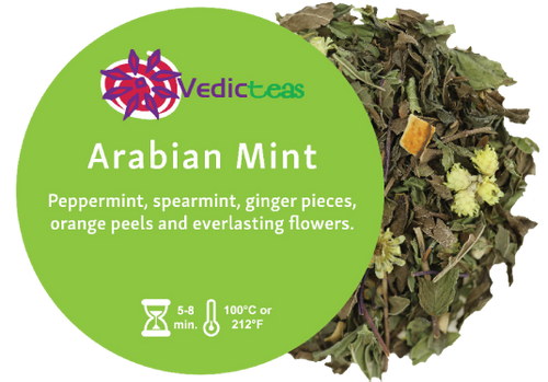 Arabian Mint, Pyramid Tea Bags