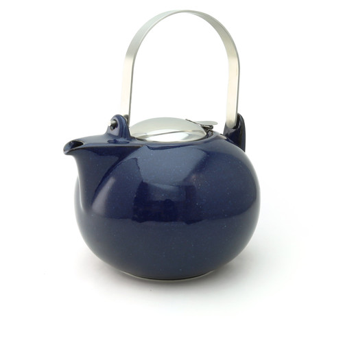 Jambo Teapot with Stainless Steel Handle Jeans Blue Colour