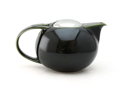 Zero Japan Saturn Teapot Antique Green