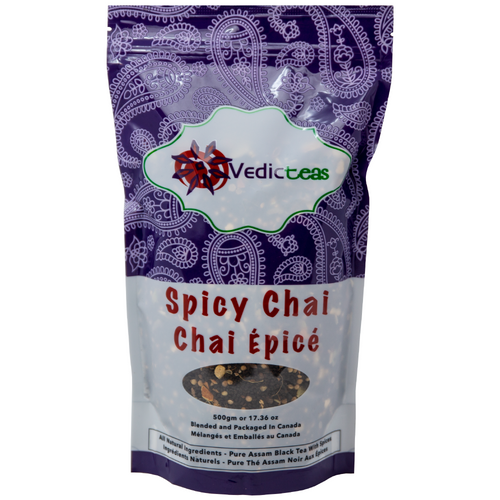 Spicy Chai 500gm Pack Front