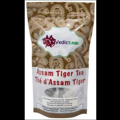 Assam Tiger Tea Tea Bags Front