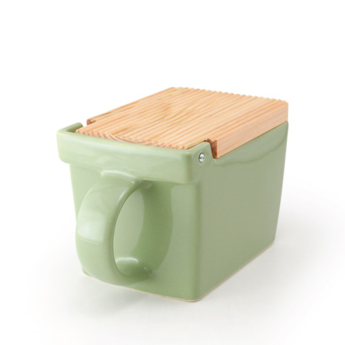 Zero Japan Salt Box Artichoke Colour