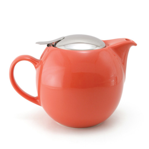 Zero Japan Teapot With Strainer Carrot Colour