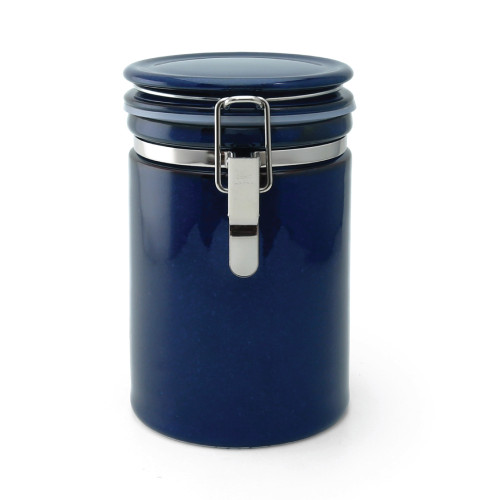 Zero Japan Tea & Coffee Canister 200g - Jeans Blue