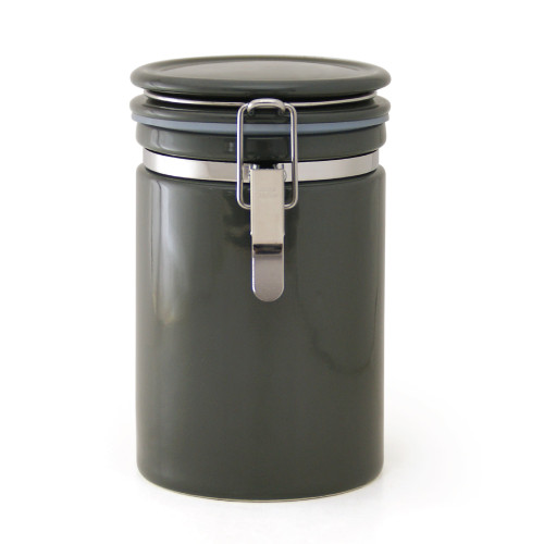 Zero Japan Tea & Coffee Canister 200g - Steel Grey
