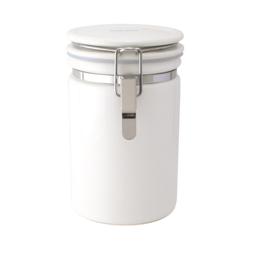 Zero Japan Tea & Coffee Canister 200g - White Colour