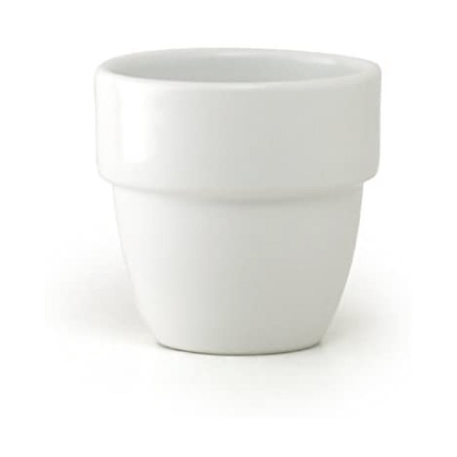 Stackable Teacup White TC-08-WH
