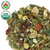 Evening Hour Tea With  Green Rooibos, Rosehips, Lemon Balm, Chamomile, Tulsi