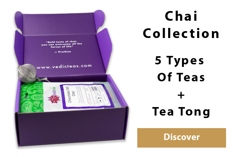 Chai Tea Collection By Vedic Teas