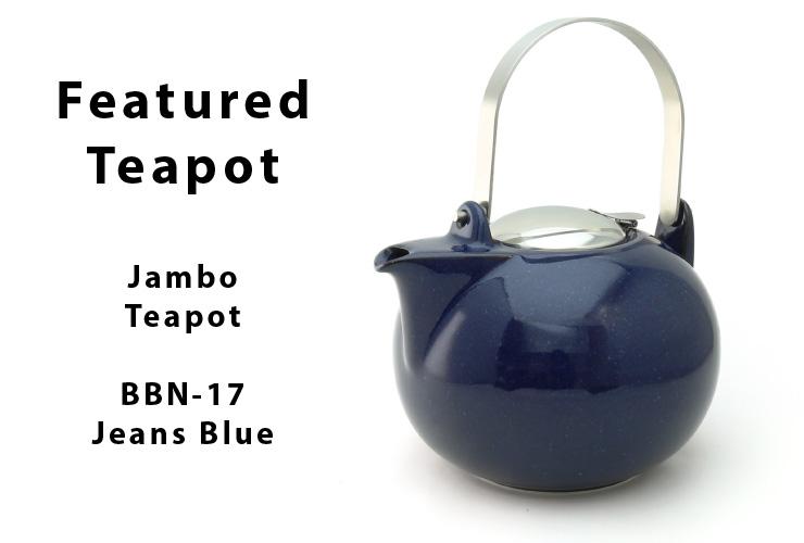 Zero Japan Jambo Teapot Crystal Silver