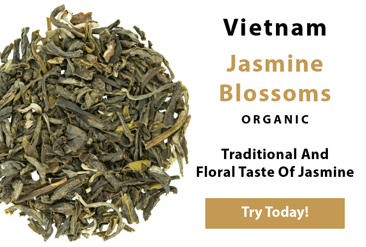 Jasmine Blossoms Green Tea