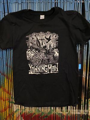 Yawning Man Jack Rabbit T-Shirt