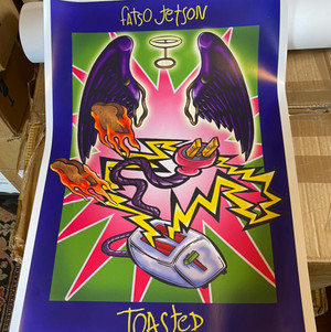 Fatso Jetson Toasted Poster