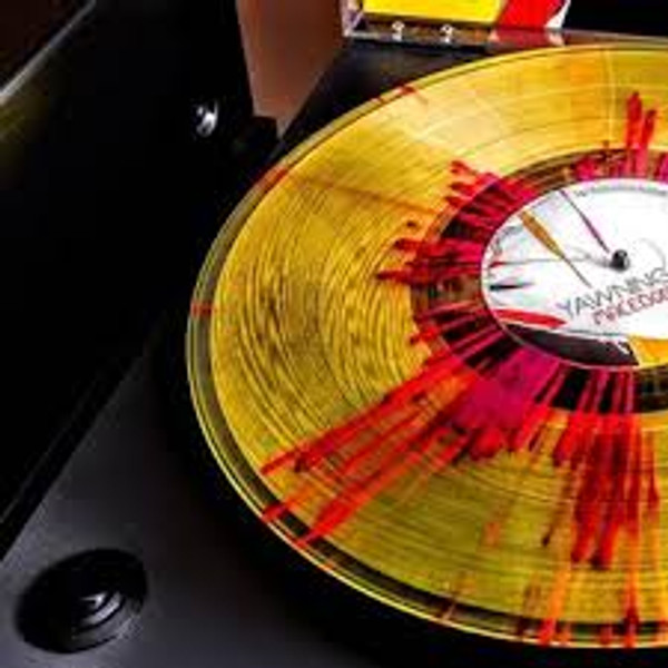 COLOR VINYL, YELLOW SPLATTER