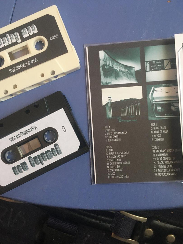 YAWNING MAN - BIRTH OF SOL DOUBLE CASSETTE (LIMITED EDITION)
