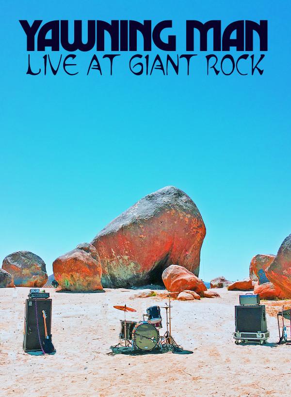 """YAWNING MAN """"LIVE AT GIANT ROCK"""" DVD"""