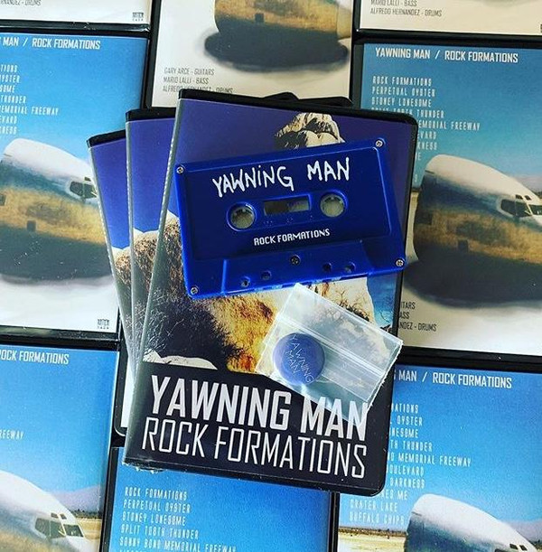 YAWNING MAN ~  Rock Formations Limited edition Cassette
