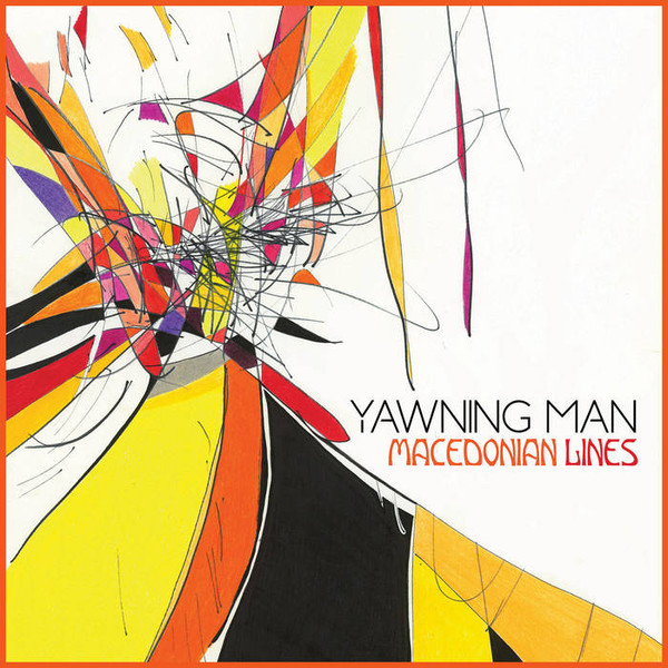 YAWNING MAN  - MACEDONIAN LINES VINYL LP - YELLOW SPLATTER