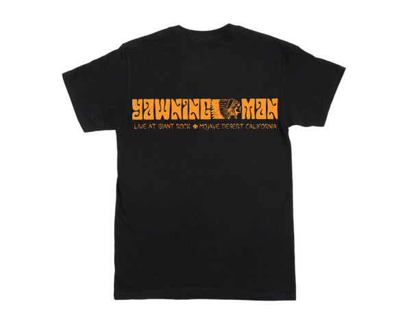 YAWNING MAN LIVE AT GIANT ROCK T-SHIRT